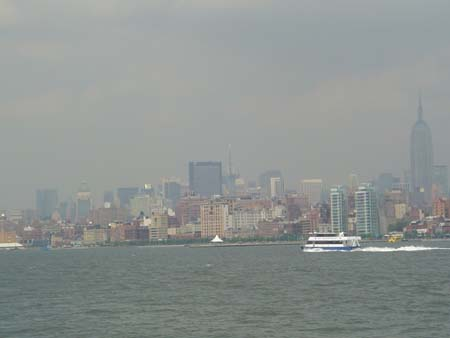 Manhattan From The Boat